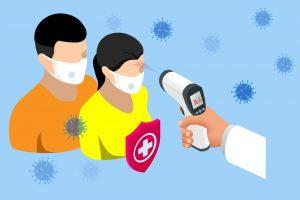 protección datos toma temperatura